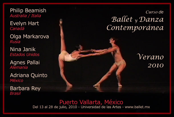 Curso de Verano 2010 - Ballet y Danza Contempornea