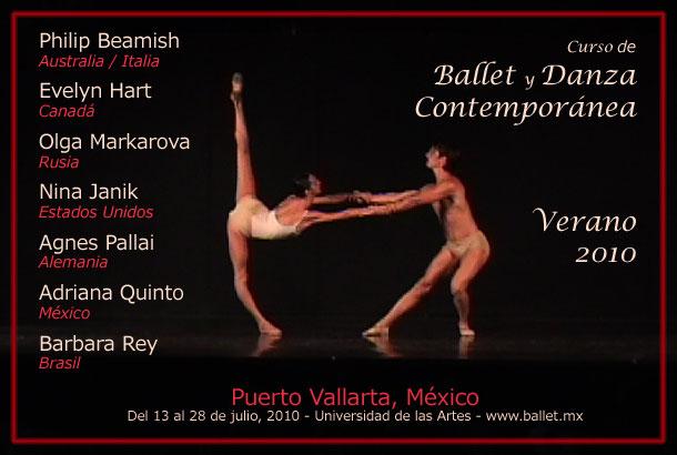 Curso de Verano 2010 - Ballet y Danza Contemporánea