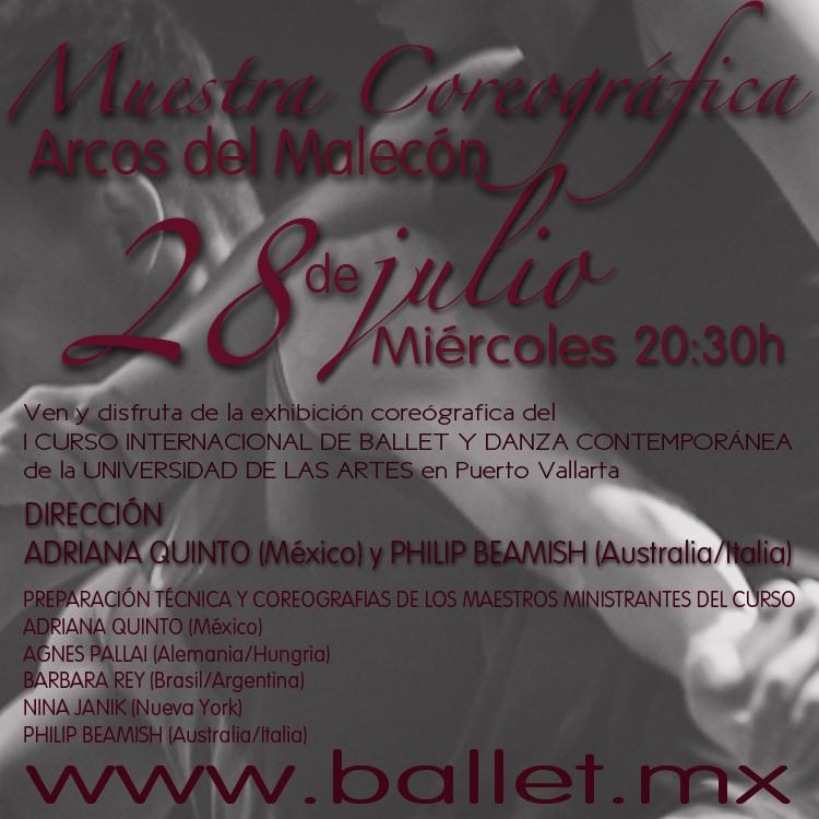 Curso de Ballet y Danza Contemporánea
